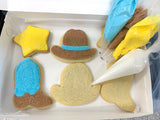Cowboy Cookie Decorating Kit