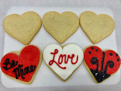 Red Valentine's Cookie Kit