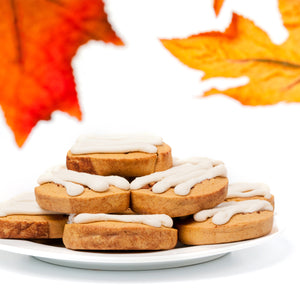 A Dozen Pumpkin Roll Cookies - Seasonal