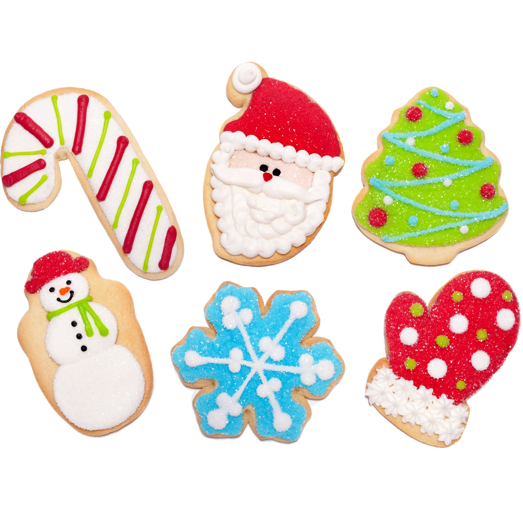 Decorated Christmas Cookies.A Dozen Decorated Christmas Cookies Barbee Cookies