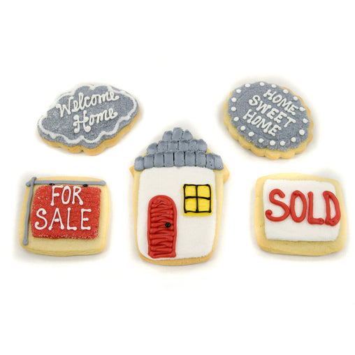 A Dozen Decorated House Warming Cookies