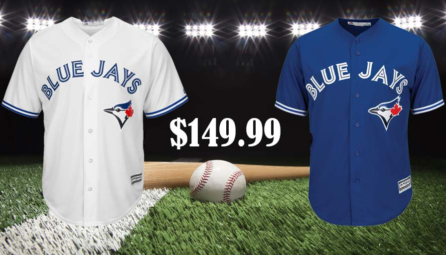Blue Men Jays Jerseys