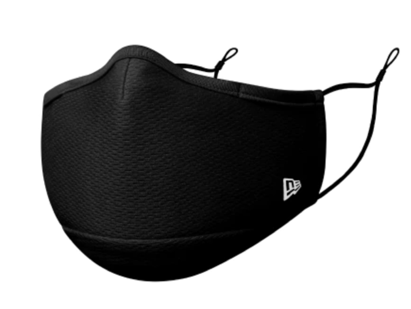 New Era Black Adjustable Soft Polyester Breathable Washable Adult Mask With Filter