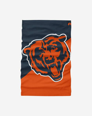 Foco Brand Chicago Bears NFL Big Logo Breathable Washable Adult Gaiter