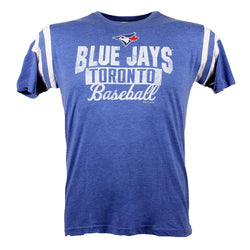 Toronto Blue Jays 4 Seamer Tri-Blend Short Sleeve T-Shirt Men's Tshirt