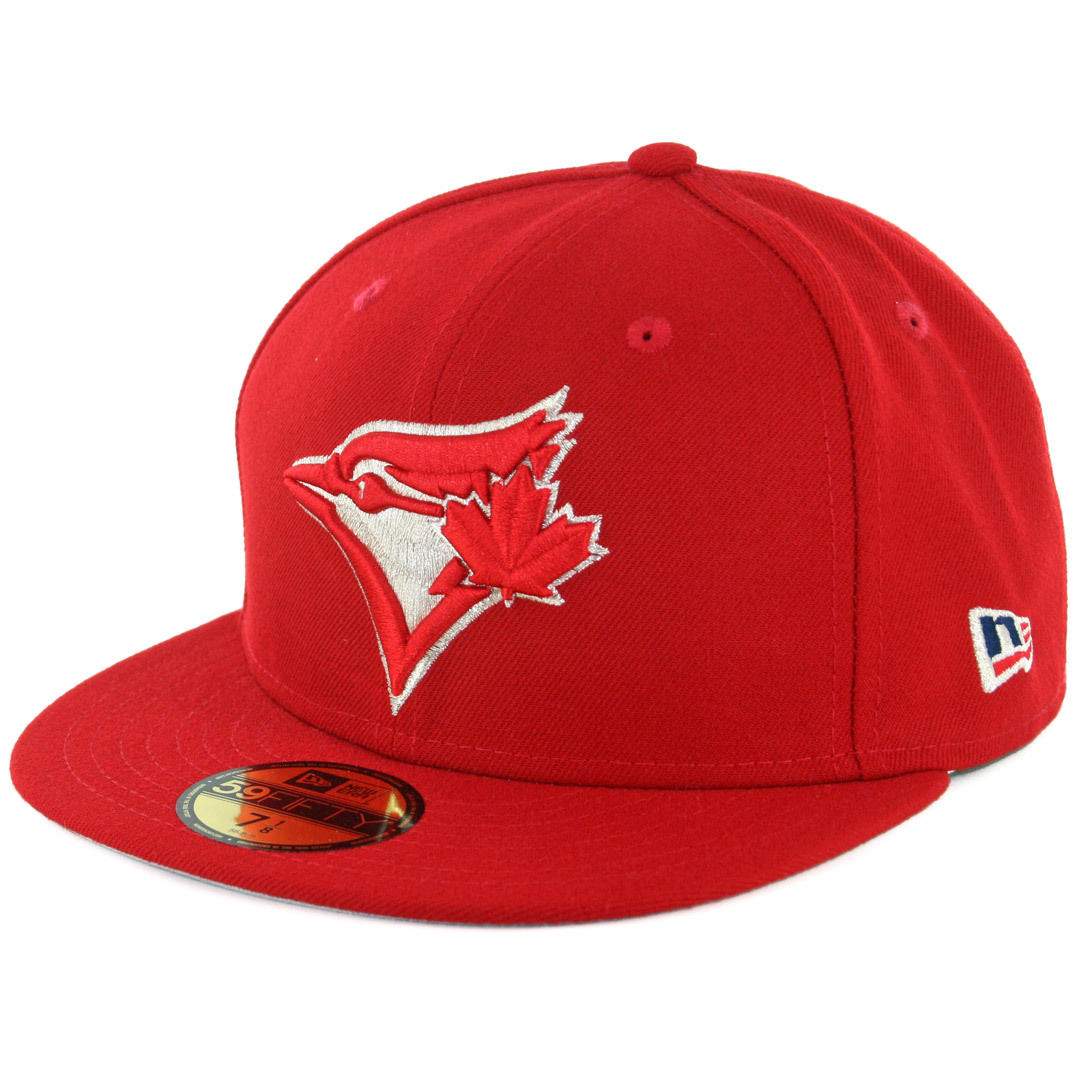 Toronto Blue Jays 59Fifty Fitted Alternate Red MLB Baseball Cap