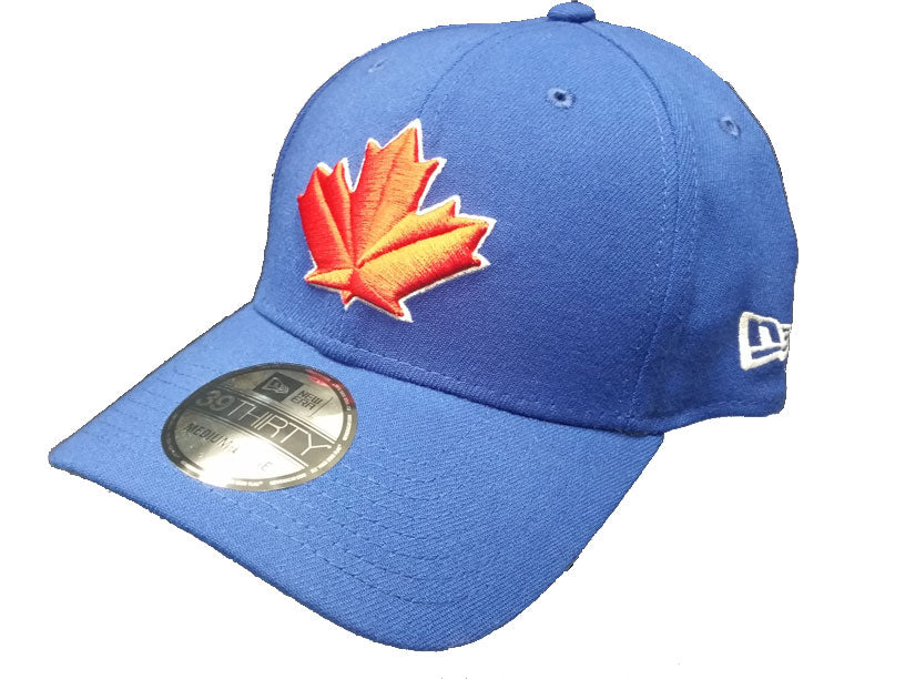 Toronto Blue Jays Alternate Royal Blue Leaf Strech Flex Fit Cap by New Era