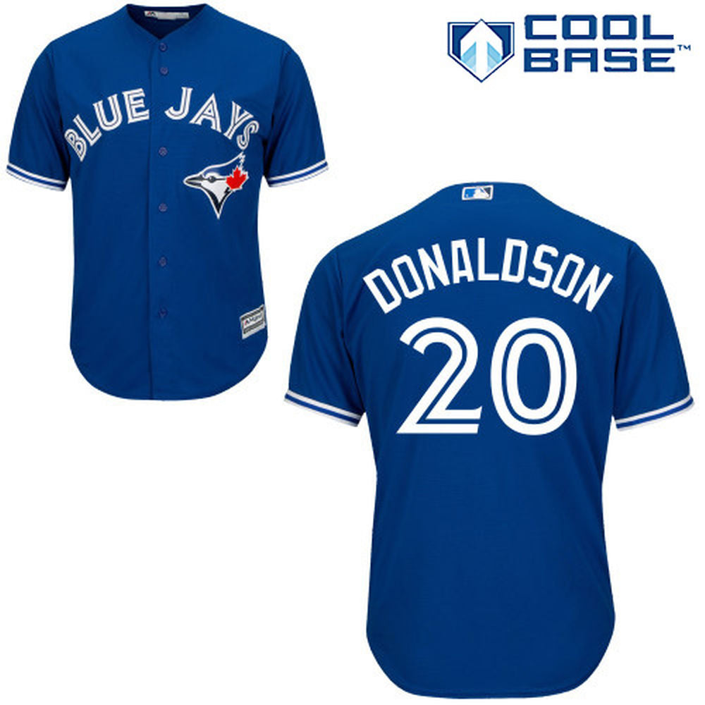 Toronto Blue Jays Youth Josh Donaldson Alternate Stitched On Jersey by Majestic