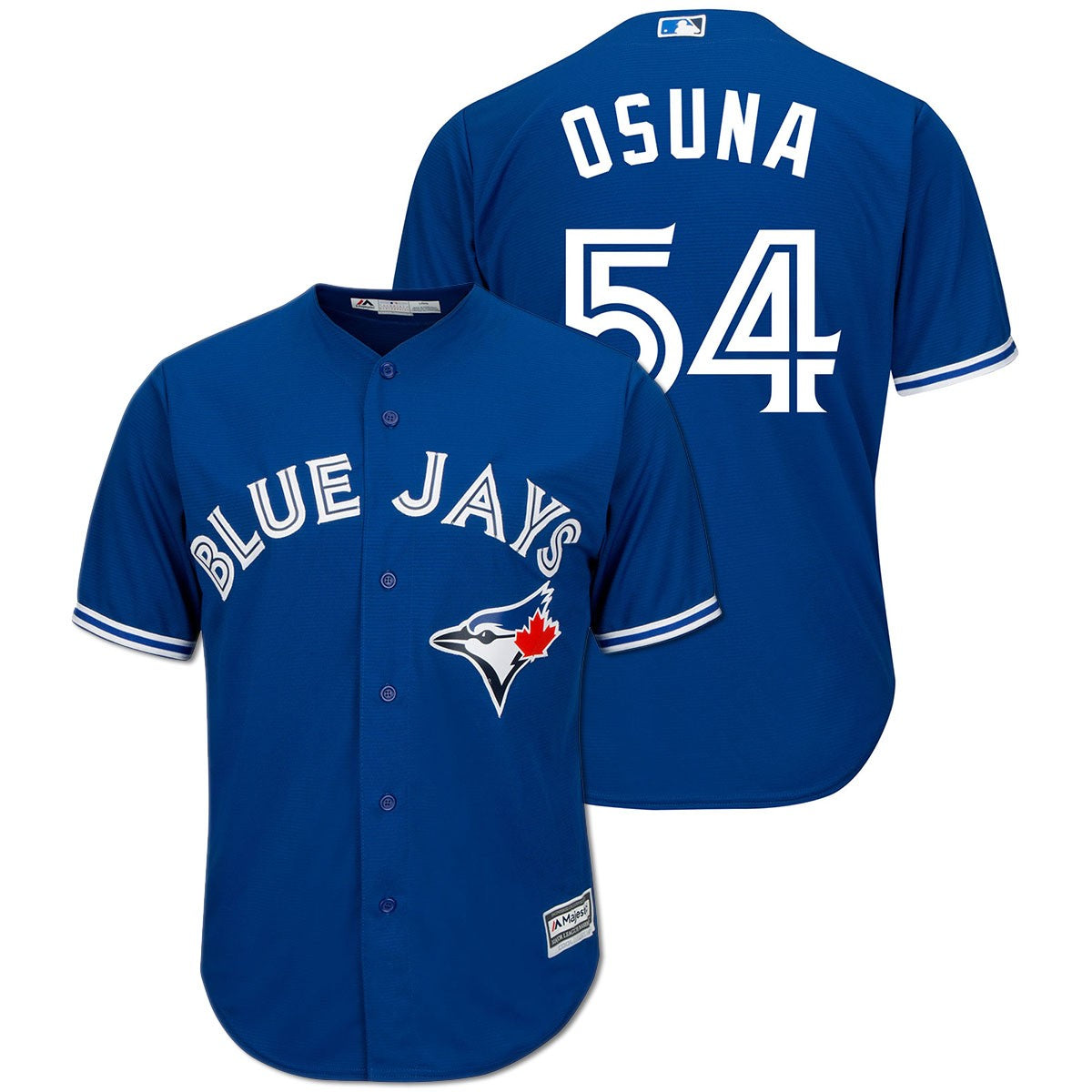Toronto Blue Jays Cool Base Replica Men's Roberto Osuna Alternate Jersey by Majestic