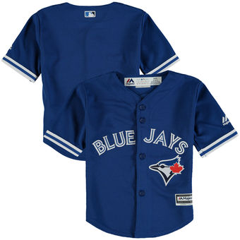 Toronto Blue Jays Kids Cool Base Replica Alternate Jersey by Majestic