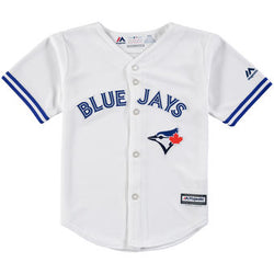 Toronto Blue Jays Kids Cool Base Replica Home Jersey by Majestic