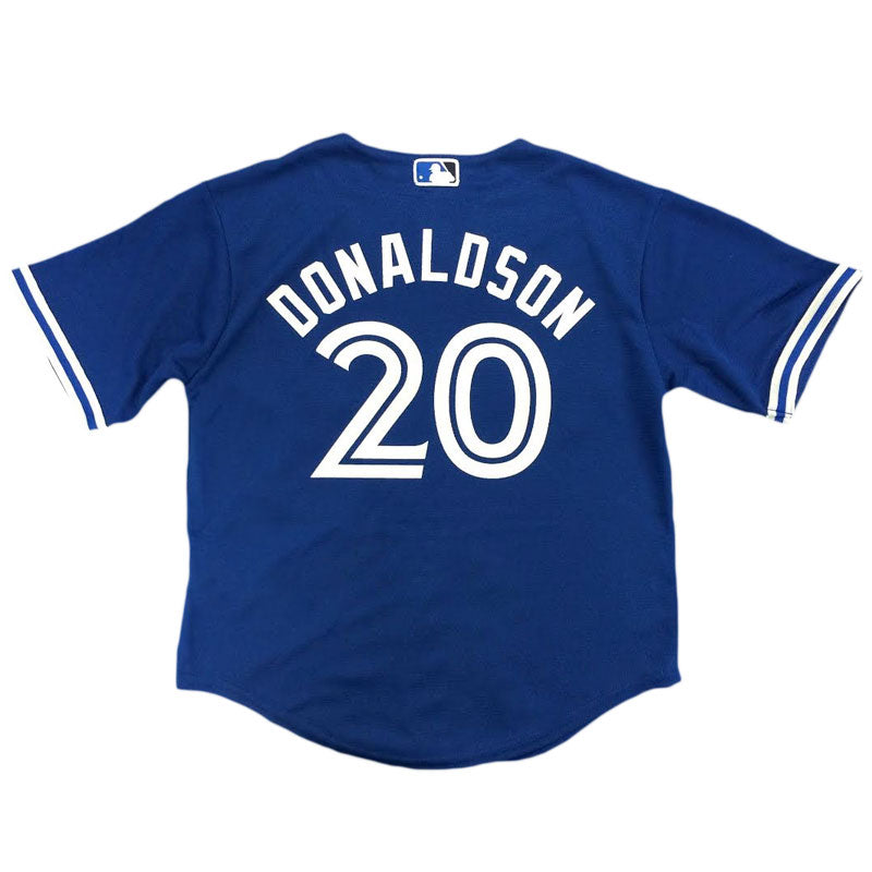 Toronto Blue Jays Kids Cool Base Replica Josh Donaldson Alternate Jersey by Majestic