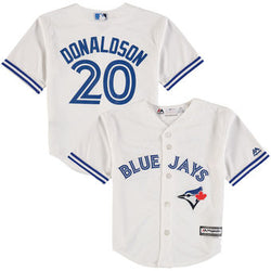 Toronto Blue Jays Kids Cool Base Replica Josh Donaldson Home Jersey by Majestic