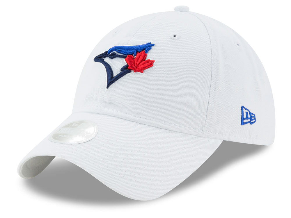 Toronto Blue Jays Women's Preferred Pick Adjustable Cap White by New Era