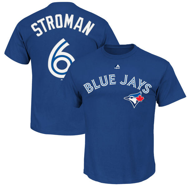 Toronto Blue Jays Marcus Stroman Youth Player T-Shirt by Majestic Tshirt