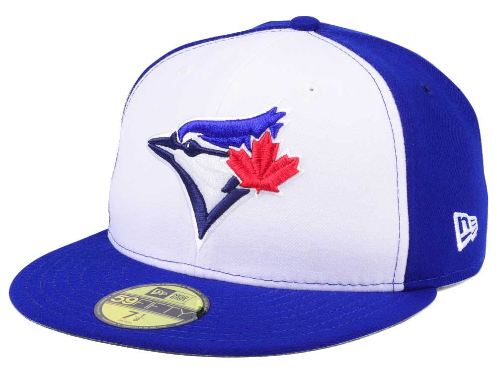 designer fashion a9e9f c1a30 Toronto Blue Jays New Era MLB Authentic Collection White Royal 59FIFTY  Fitted Cap