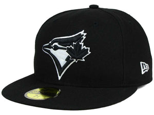 Toronto Blue Jays New Era MLB Black and White Fashion 59FIFTY Fitted Cap