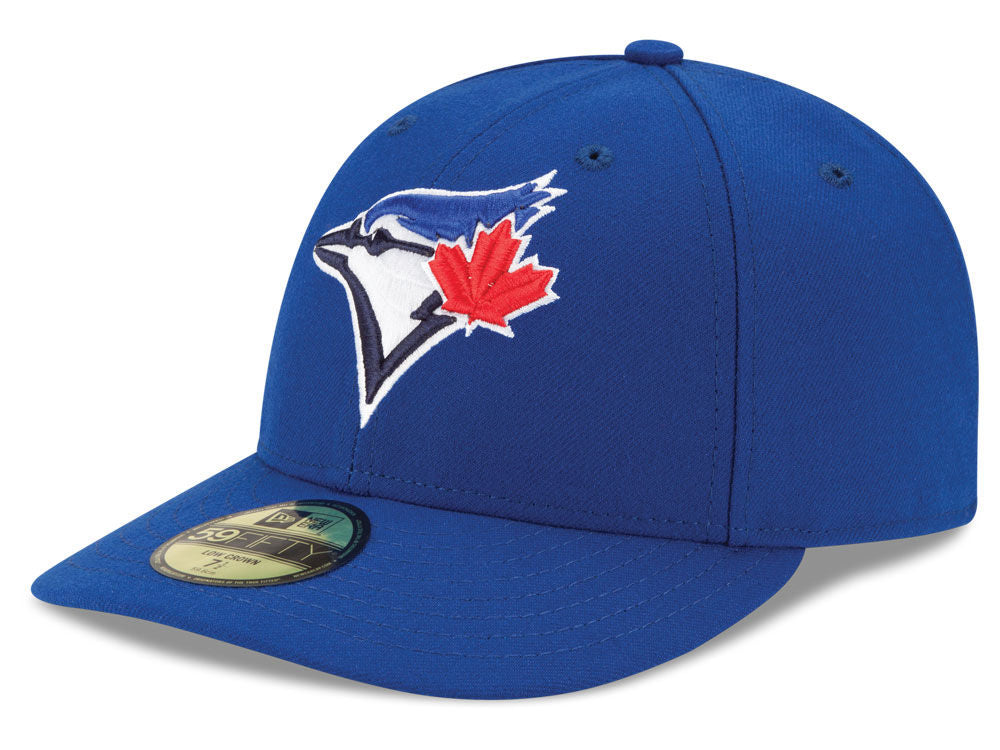 Toronto Blue Jays New Era MLB Low Profile AC Performance 59FIFTY Fitted Royal Cap