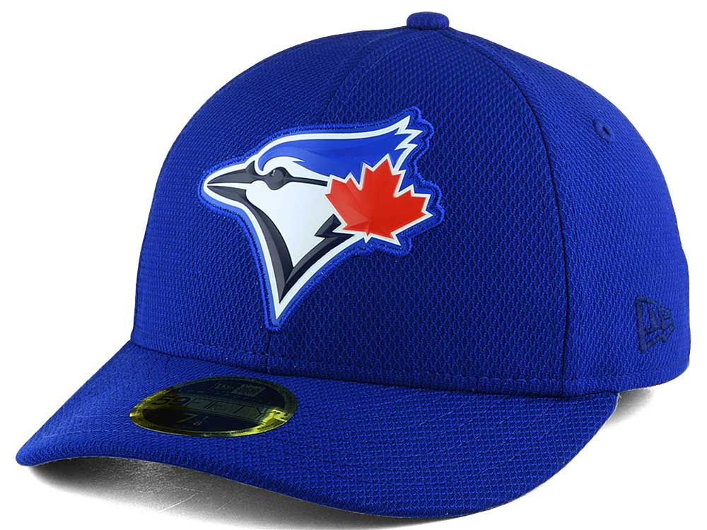Toronto Blue Jays New Era MLB Royal Low Profile Bevel Team 59FIFTY Fitted Cap