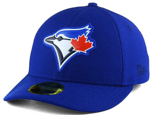pretty nice 49f1f d6a89 Toronto Blue Jays New Era MLB Royal Low Profile Bevel Team 59FIFTY Fitted  Cap