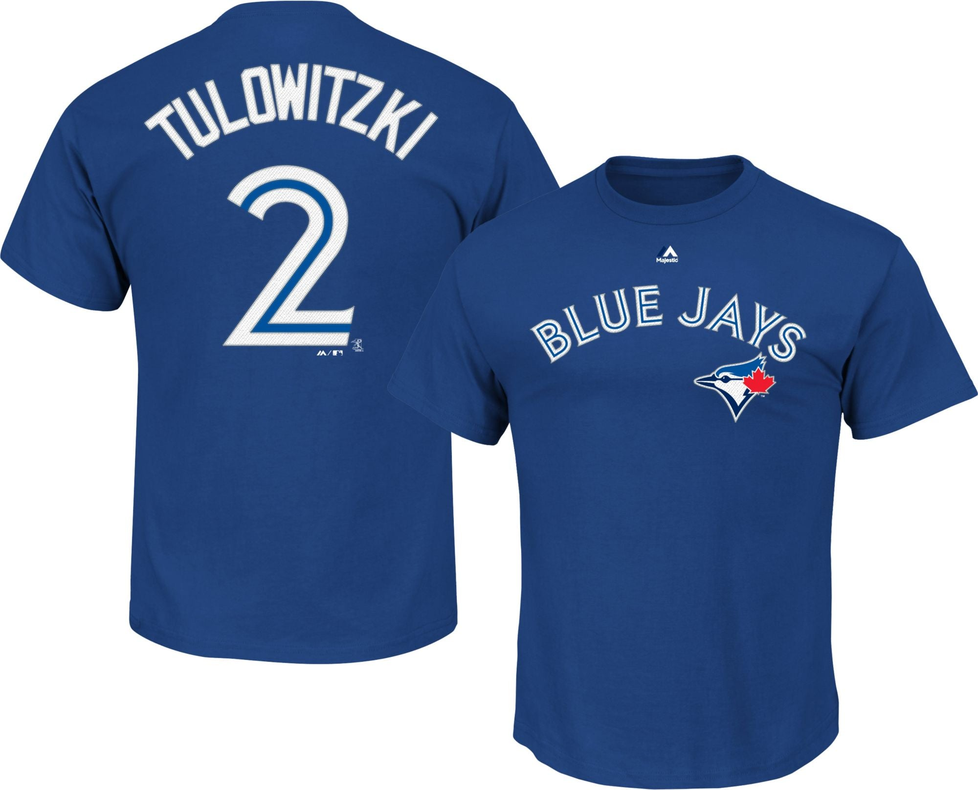 Toronto Blue Jays Troy Tulowitzki Player T-Shirt by Majestic Tshirt