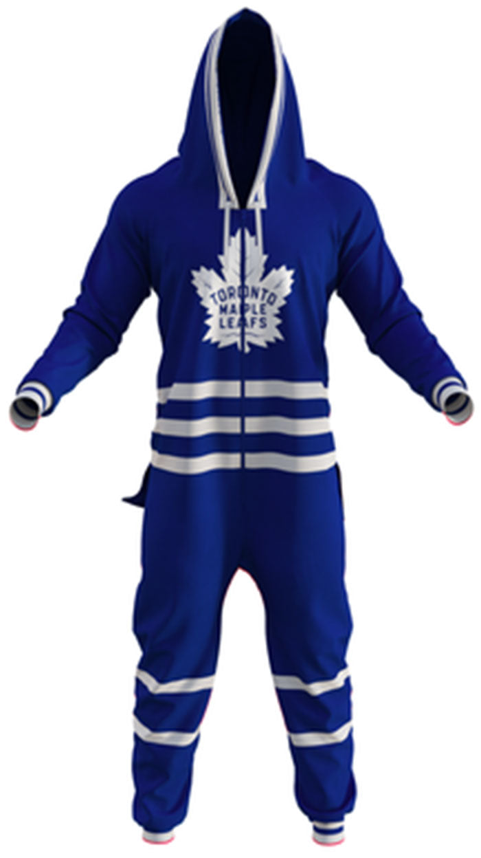Toronto Maple Leafs NHL Onesie Unisex Bodysuit By Hockey Sockey