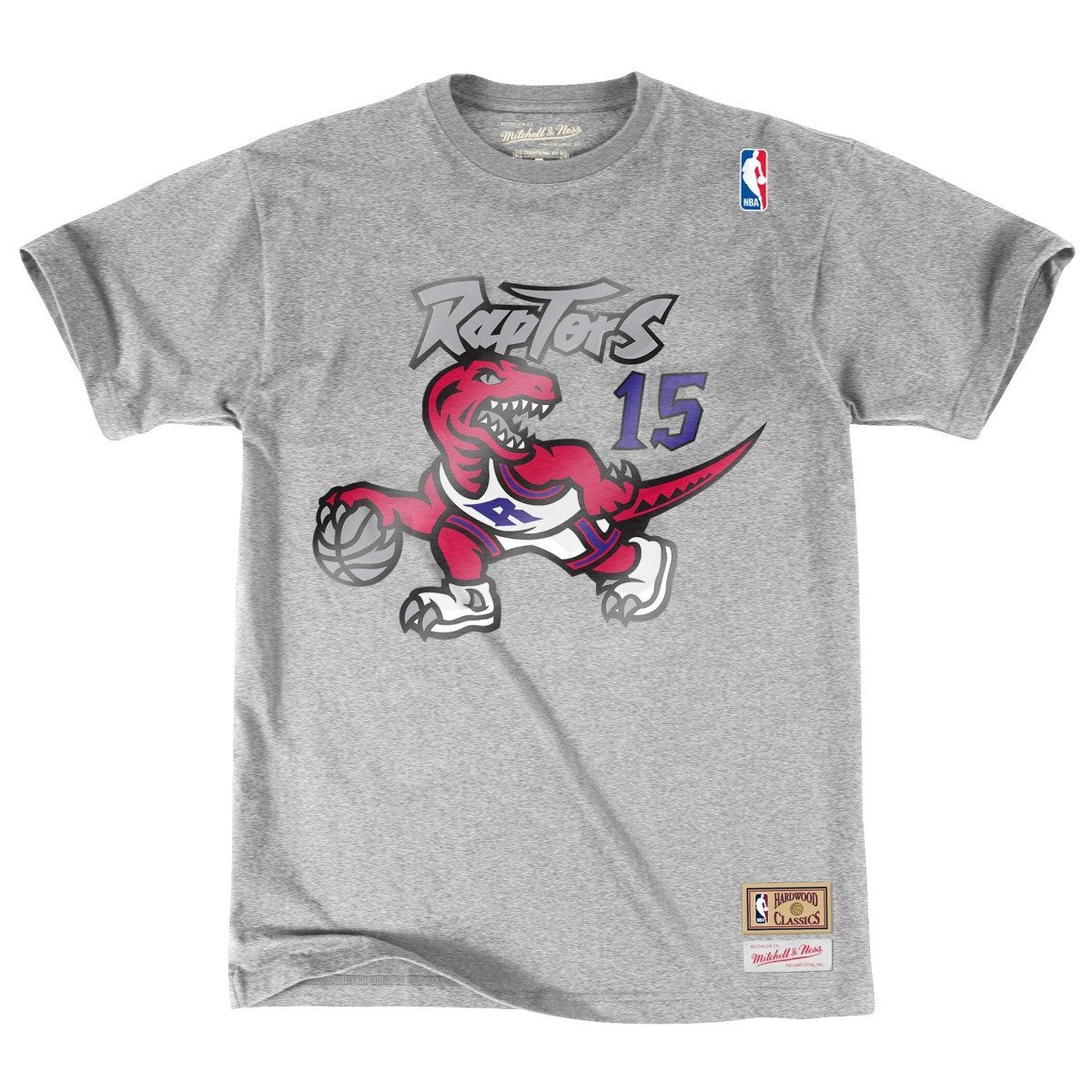 best sneakers 55b22 0f3a3 Vince Carter Toronto Raptors Mitchell & Ness NBA Throwback Player Men's  T-Shirt