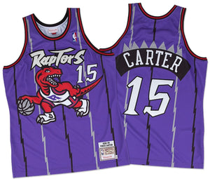 Vince Carter Toronto Raptors Purple NBA Swingman Jersey by Mitchell & Ness