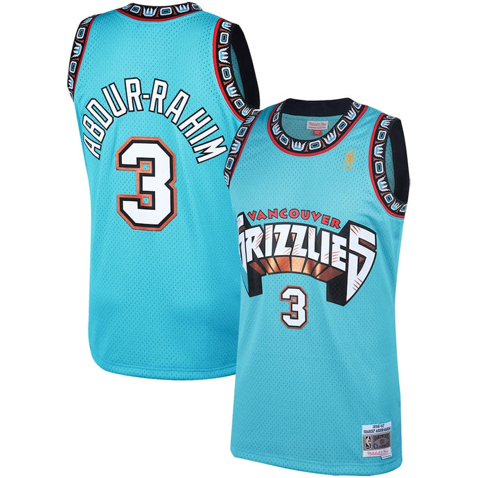 Copy of Shareef Abdur-Rahim Vancouver Grizzlies White NBA Swingman Jersey By Mitchell and Ness