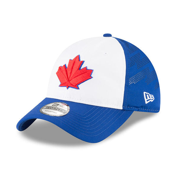 Toronto Blue Jays Authentic Collection Spring Training 2018 Adjustable Cap by New Era Batting Practice