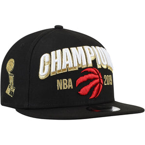 Toronto Raptors New Era 5950 Cap 2019 NBA Finals Champions Locker Room 59FIFTY Hat