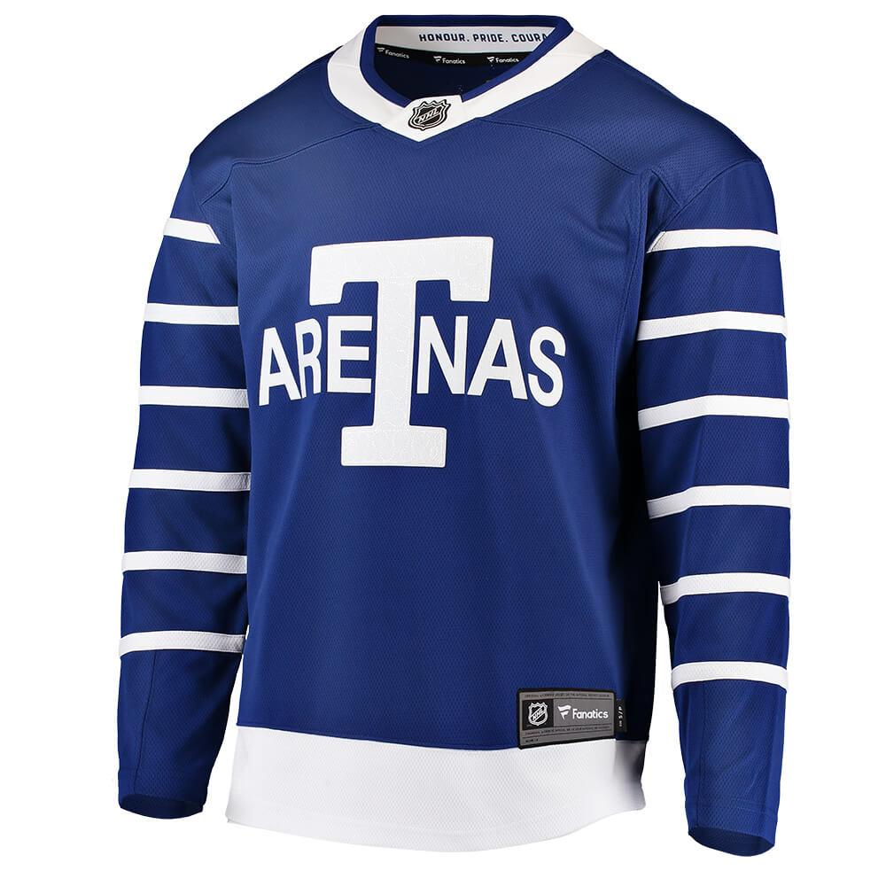 Toronto Maple Leafs Arenas Breakaway Blank Jersey Blue by Fanatics