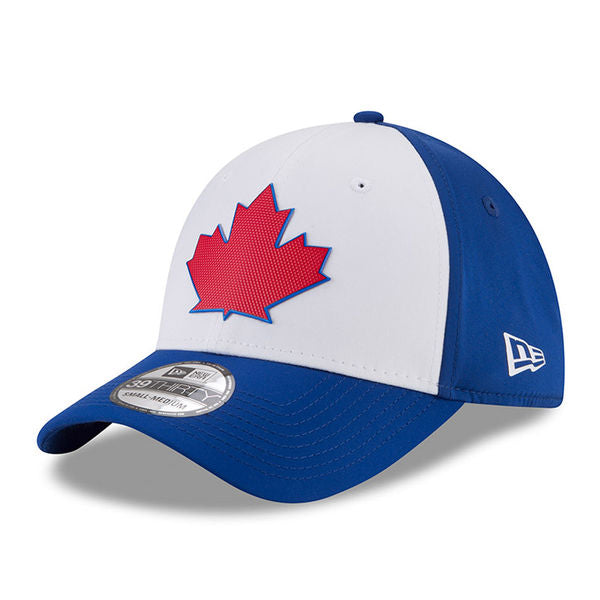 Toronto Blue Jays Authentic Collection Spring Training 2018 Stretch Fit Cap by New Era Royal Flex Fit Batting Practice
