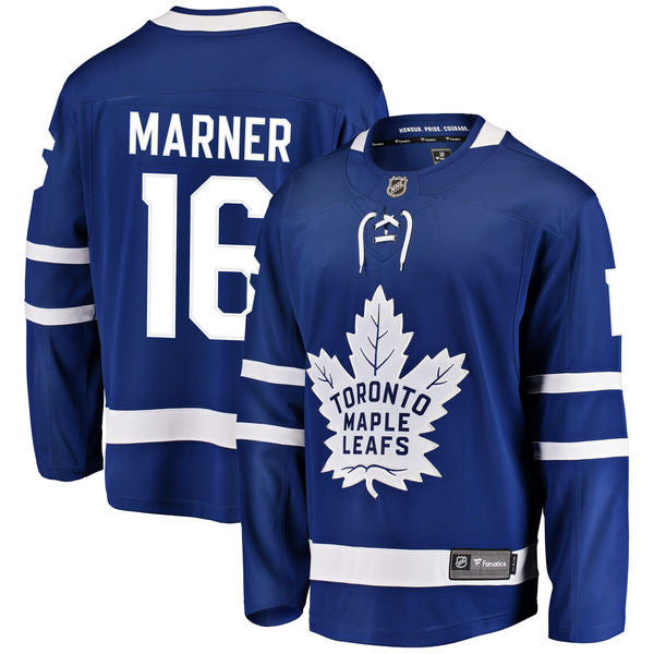 Men's Toronto Maple Leafs Mitchell Marner Blue Breakaway Player Jersey by Fanatics