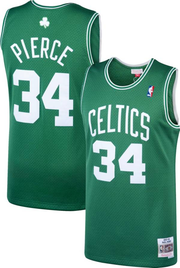 Paul Pierce Green Boston Celtics NBA Swingman Jersey By Mitchell and Ness