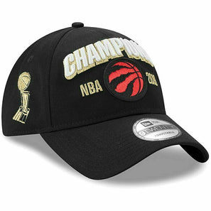 New Era Toronto Raptors 2019 NBA Finals Locker Room Champions Hat 920 Adjustable Cap