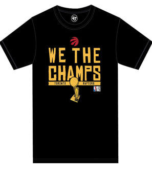 Toronto Raptors We The Champs 2019 NBA Champions 47 Brand Men's T-shirt