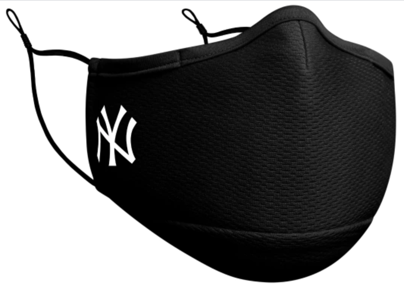 New Era Black MLB New York Yankees Adjustable Soft Polyester Breathable Washable Adult Mask With Filter
