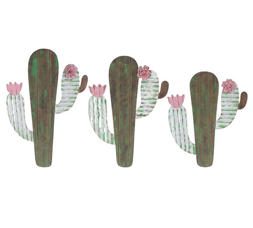 Blooming Cactus Wall Hanging