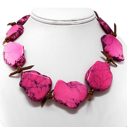 Pink Rivulet Necklace