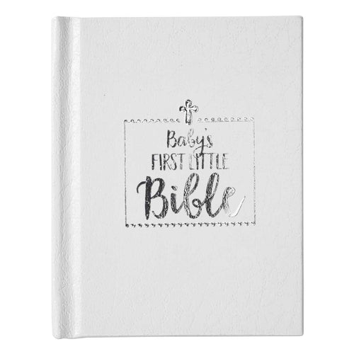 Baby's First Little Bible, White