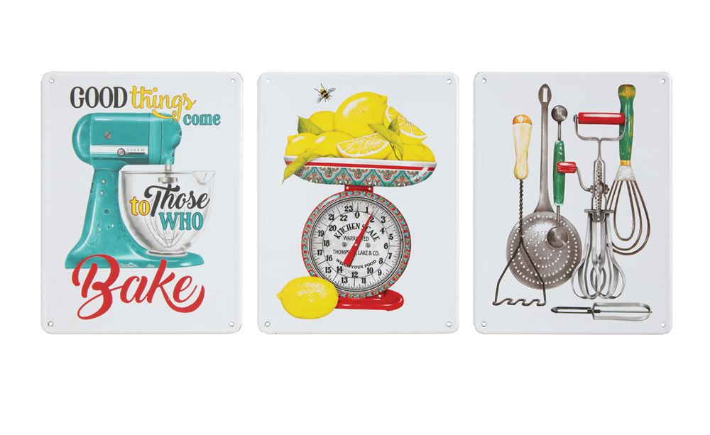 Vintage Style Kitchen Signs