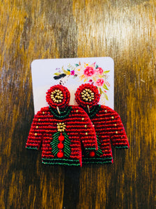 Favorite Christmas Sweater Earrings