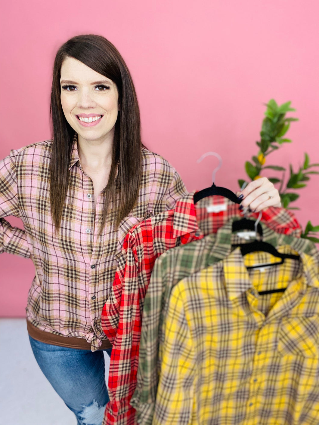 Keep Doing That Flannel ~ 6 Colors