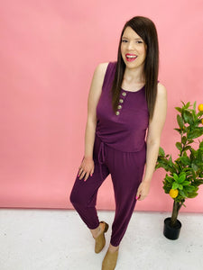 Look Up to You Jumpsuit ~ 4 Colors