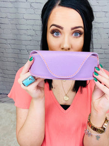 Lila Sunglass Case