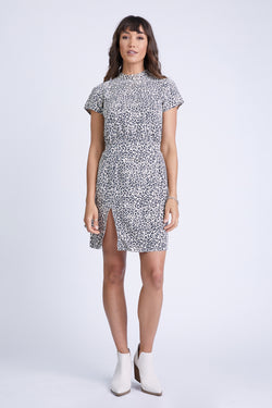 THE JANET DRESS LEOPARD