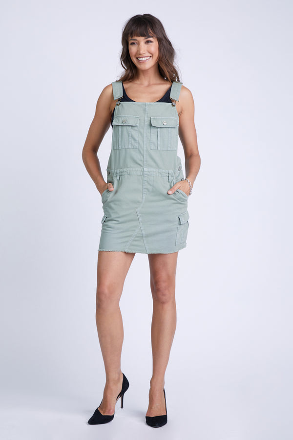 THE OVERALL MILITARY SKIRT TEA