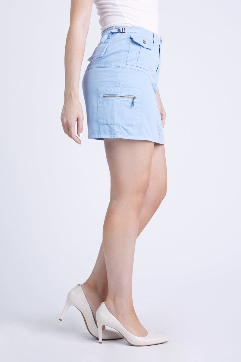 THE ROSA SKIRT POWDER BLUE