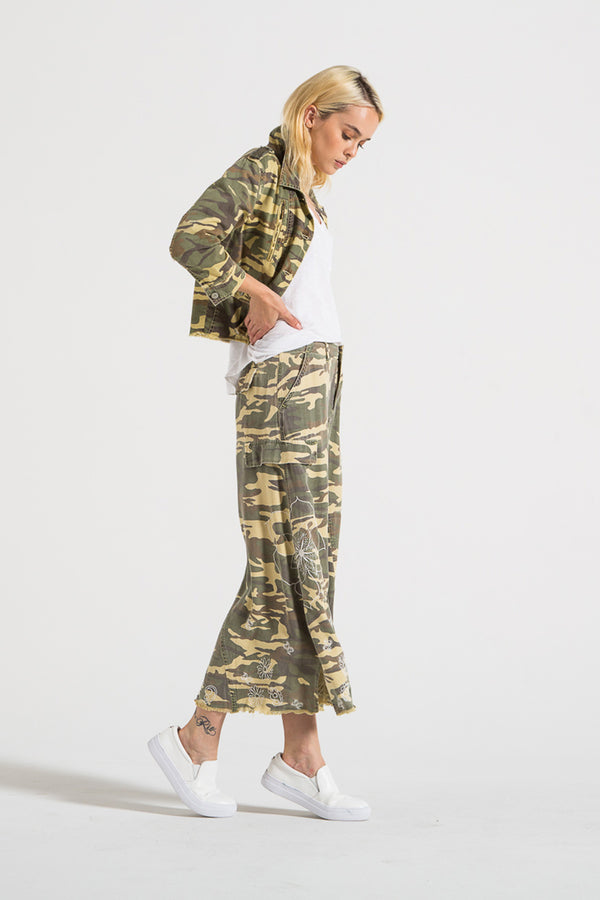 ORIGINAL MILITARY LONG SKIRT- ARMY CAMO - Da-Nang